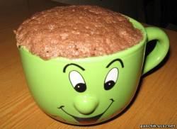 Кекс в кружке за 5 минут