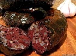 колбаса кровяная домашняя