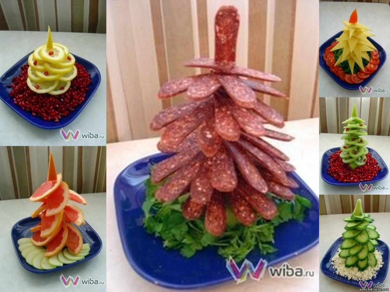 Свадебный закусочный торт. Как сделать розы из ветчины и