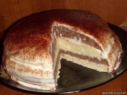торт бисквит рецепт выпечки