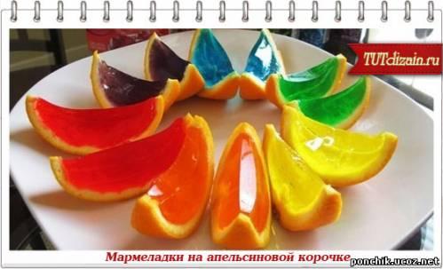Мармелад апельсиновый.