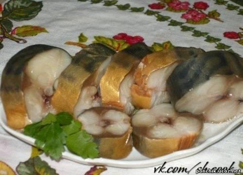 домашняя копченая рыба рецепт