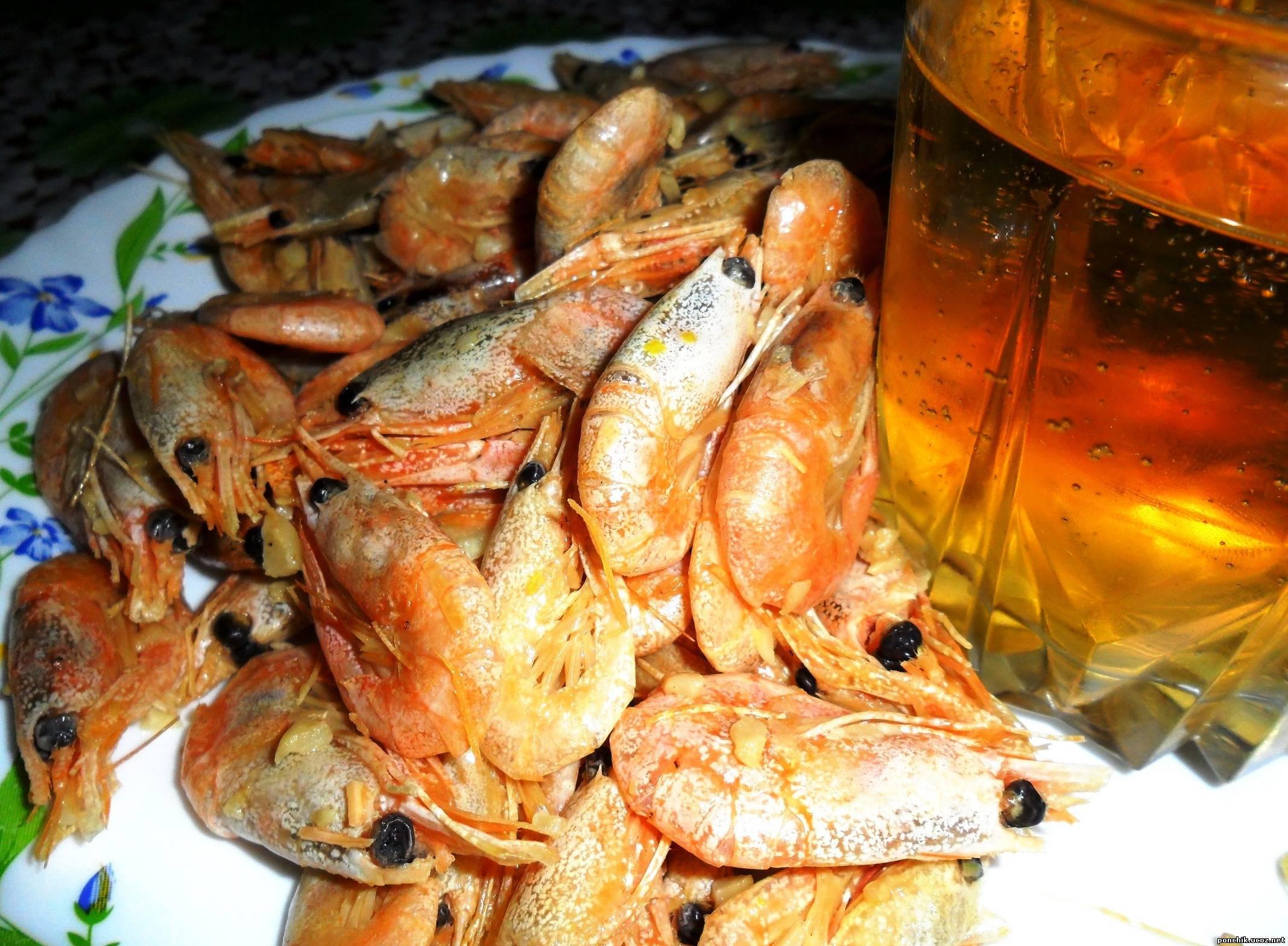 Вареные лангустины к пиву рецепт пошагово