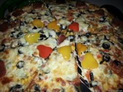 пицца рецепт с грибами